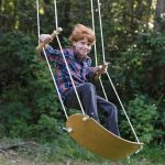 kids surfer swing