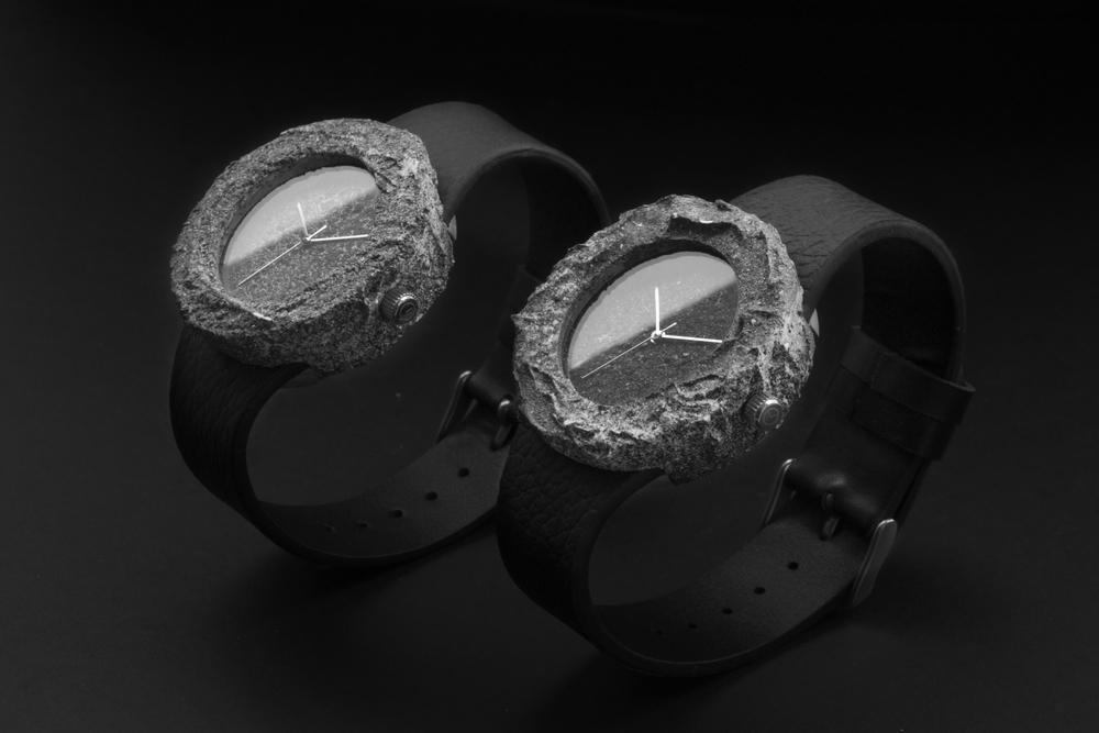 moon rock watch