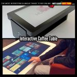 Interactive Coffee Table With Touch Screen
