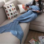 mermaid -tail-blanket