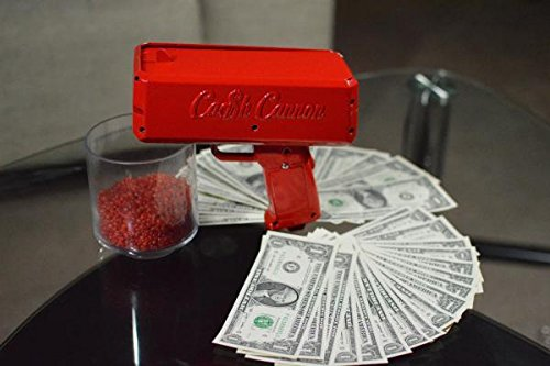 make it rain with the cash cannon
