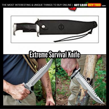 Sharp As Hell, Check Out This EXTREME SURVIVAL KNIFE