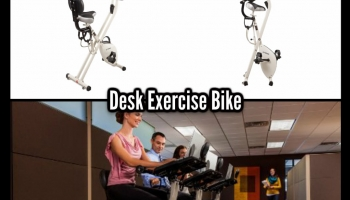 Desk Exercise Bike: Kill Two Birds With One Stone
