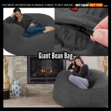 Chillax In This Giant Chill Sack BEANBAG CHAIR