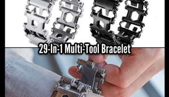 This MULTI-TOOL BRACELET Has 29 Tools In 1