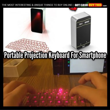 Wireless Infrared Laser Projection HOLOGRAM KEYBOARD For Smartphone +