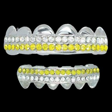 Iced Out Hip Hop Grillz