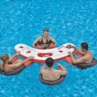 Inflatable Pool Bar Set