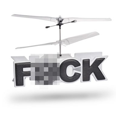 Flying F#CK R/C Helicopter