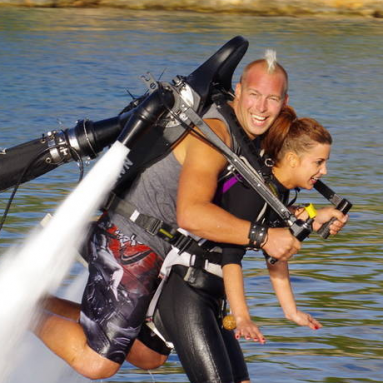 The Water Jet Pack (Jetlev-Flyer)
