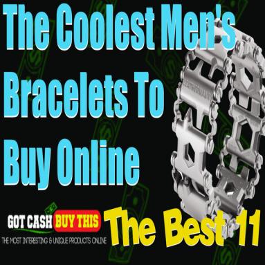 11 Best Men's Bracelets To Buy Online: The Coolest Men's Bracelets!