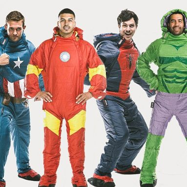 Wearable Sleeping Bags (Marvel Characters)