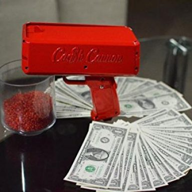 "The ""Make It Rain"" Cash Cannon"